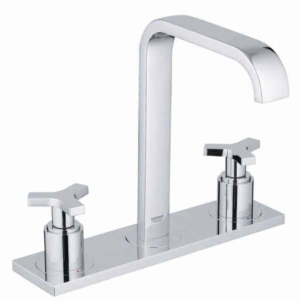 Grifo de lavabo bimando montura carbodour - Allure M cromo - Grohe