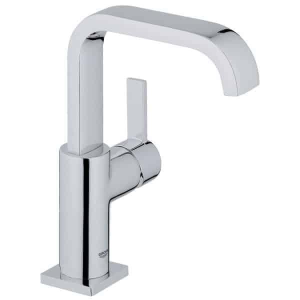 Grifo de lavabo monomando cuerpo liso - Allure L cromo - Grohe