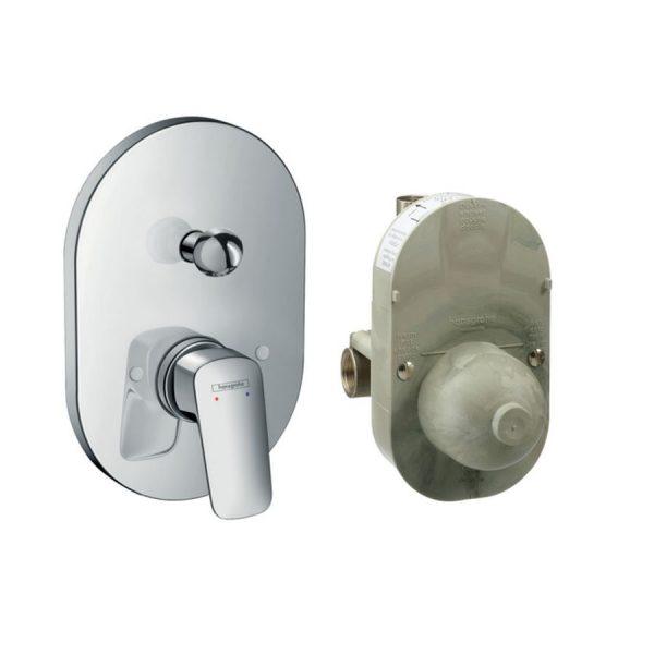 Mezclador monomado de bañera empotrado modelo basico - Logis - Hansgrohe