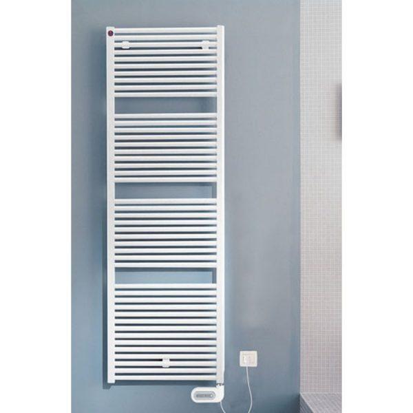 Radiador toallero baño electrico blanco - Cabel - Reforclima