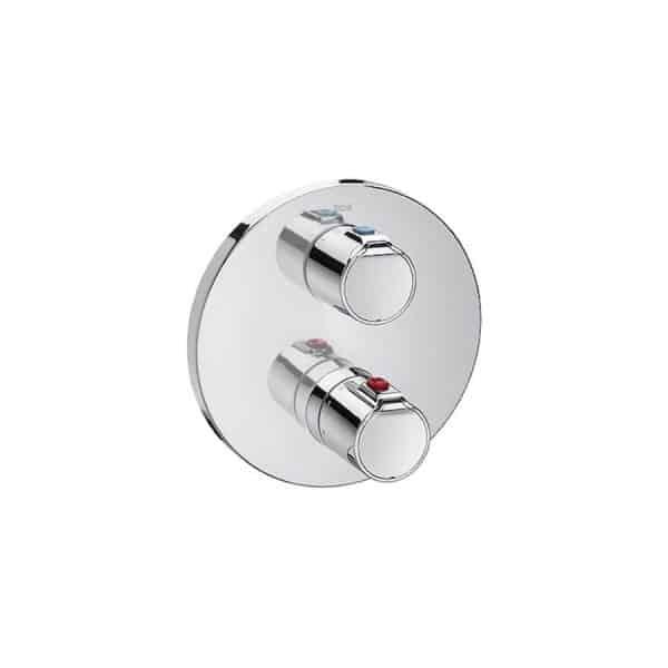 Mezclador termostatico empotrable para baño-ducha - Roca - Victoria