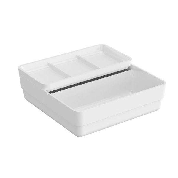 Container doble con tapa - Bath+ - B-Smart