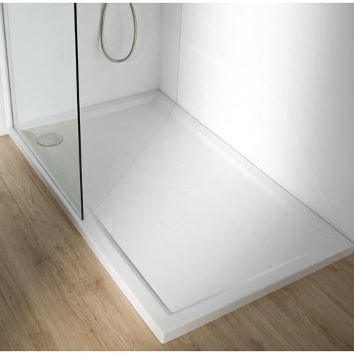 Plato de ducha acrilico banium for Ver duchas de bano
