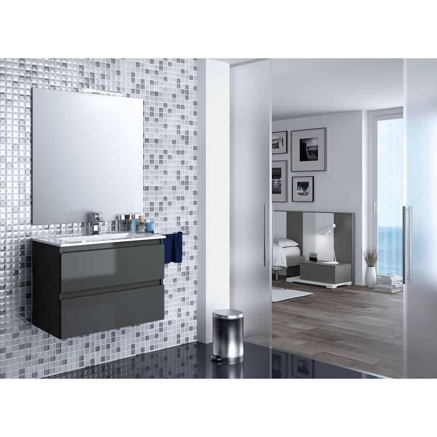 Conjunto de muebles box banium for Conjunto mueble lavabo