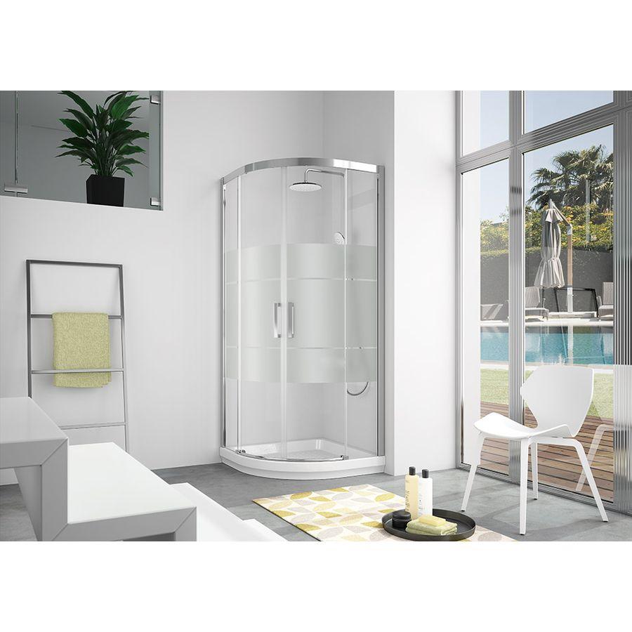 Mampara semicircular de ducha banium - Mamparas de ducha online ...