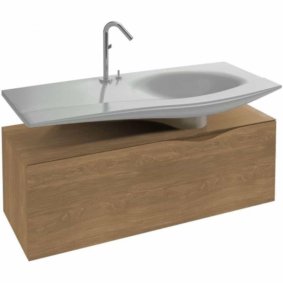 Mueble bajo lavabo 120 banium for Mueble auxiliar bano bajo lavabo