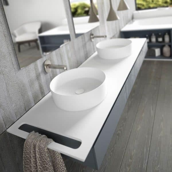 Encimera Solid Surface-Con o sin toallero-SolidValencia