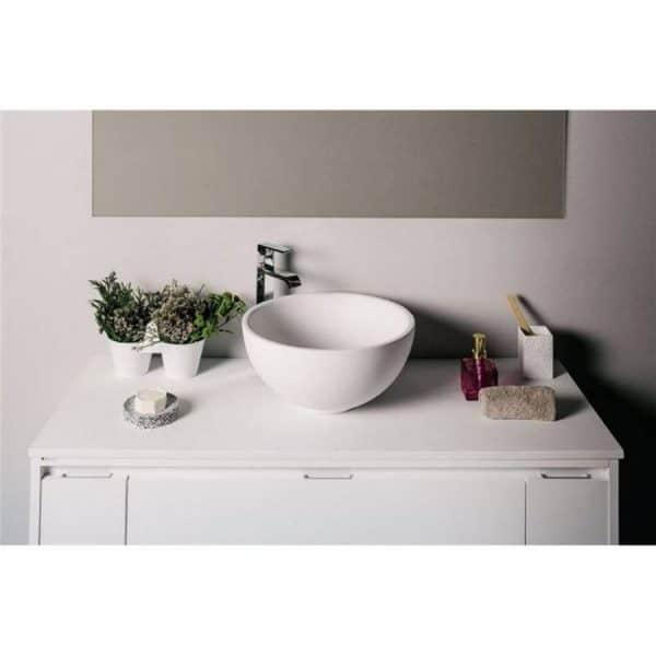 Encimera con lavabo Calipso - Gel Coat - Bondi - Doccia Group