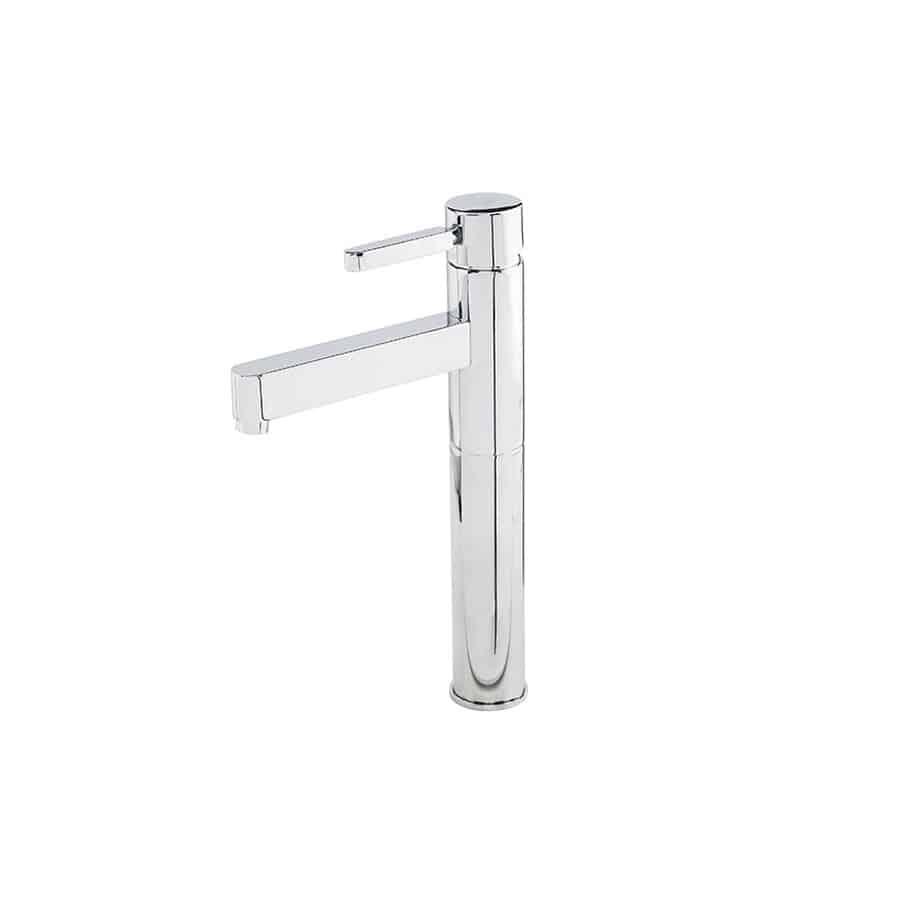 Zas lavabo alto banium for Grifo alto lavabo