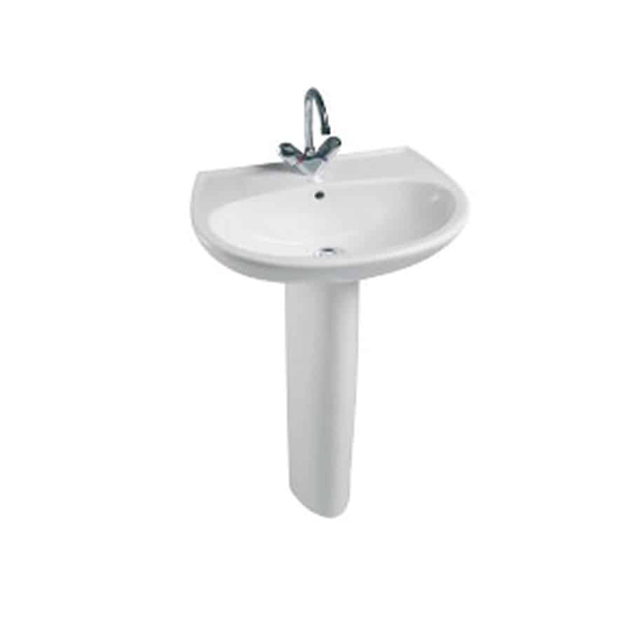 lavabo con pedestal huno banium. Black Bedroom Furniture Sets. Home Design Ideas