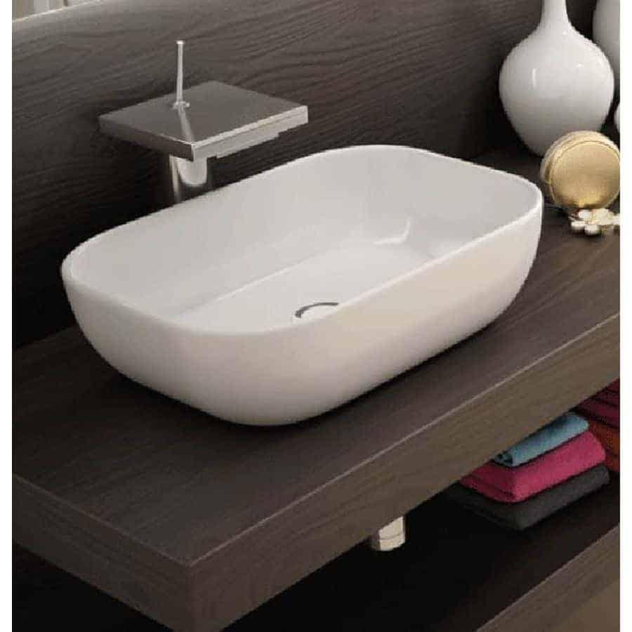 Lavabo sobre encimera horus banium for Compra de lavabos