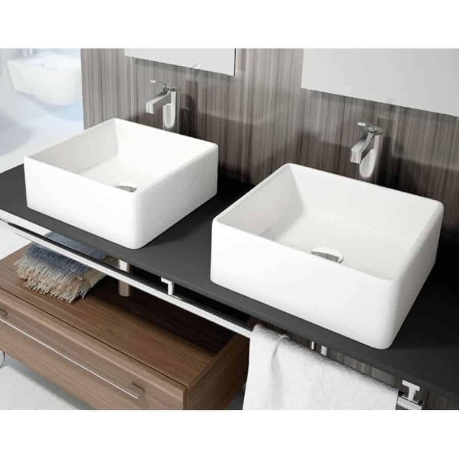 Lavabo sobre encimera apis banium - Encimera para lavabo ...