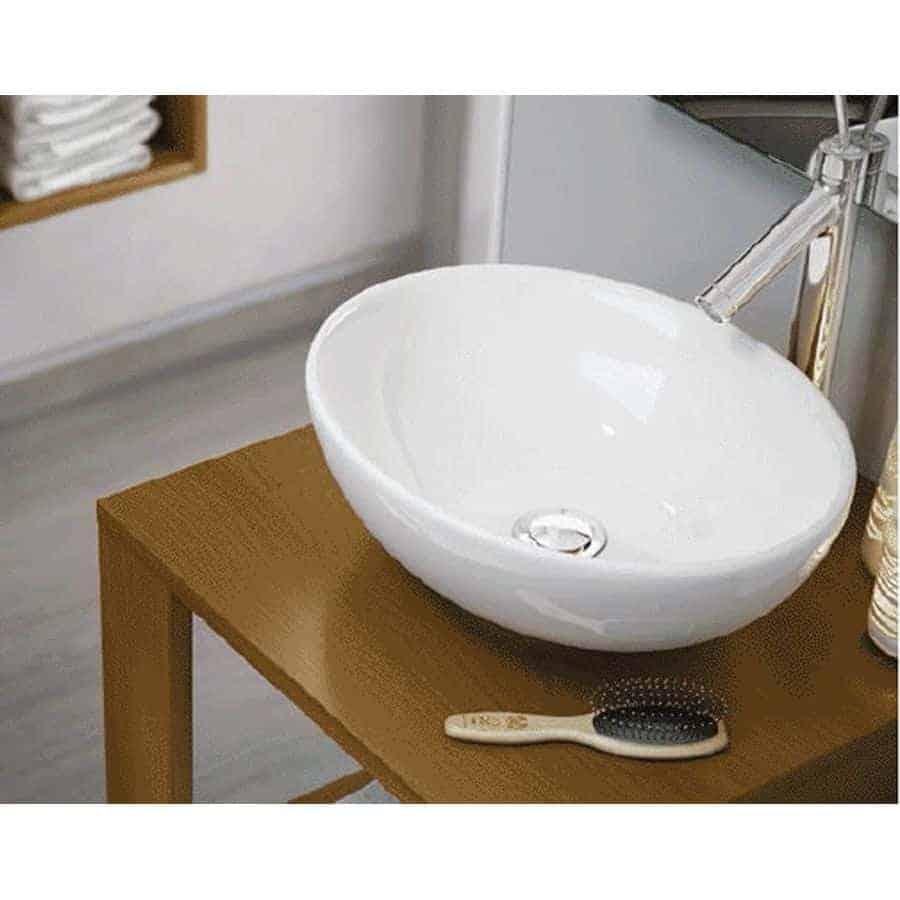 Lavamanos sobre encimera lavabos sobre encimera mueble for Oferta lavabos