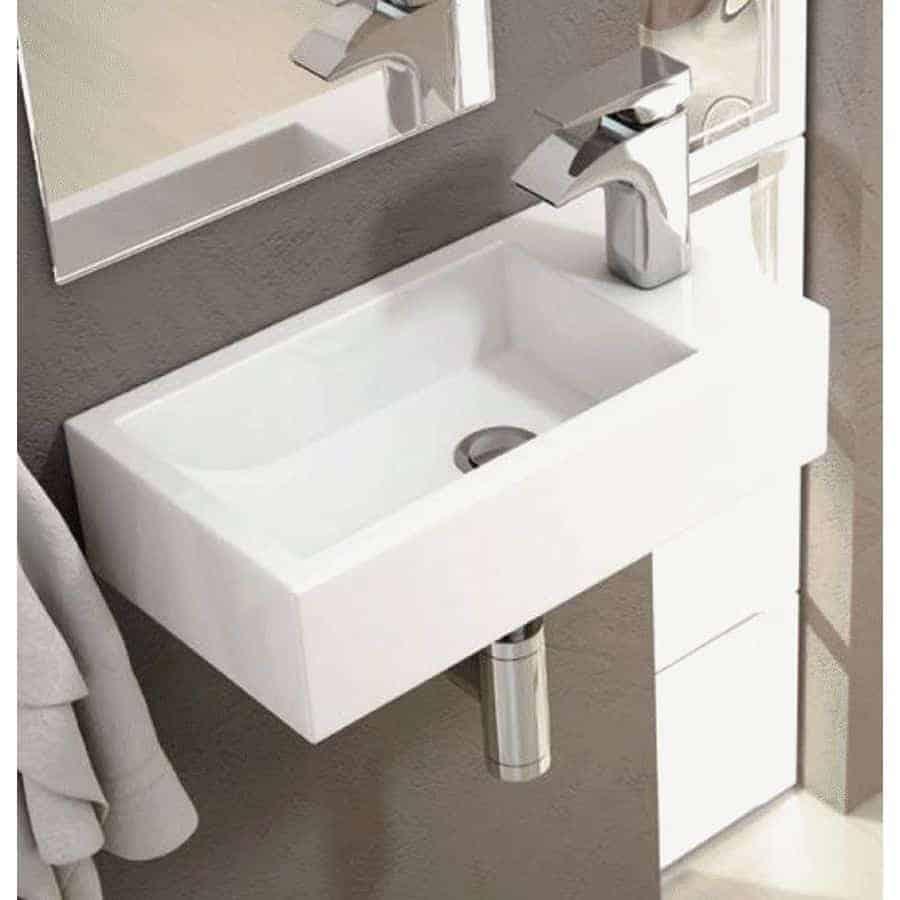 Lavabo suspendido picolo banium for Compra de lavabos