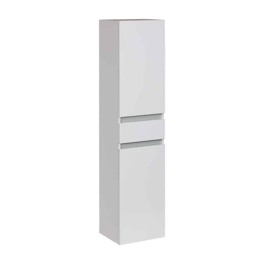 Columna blanca gamma fan banium - Mueble columna bano ...