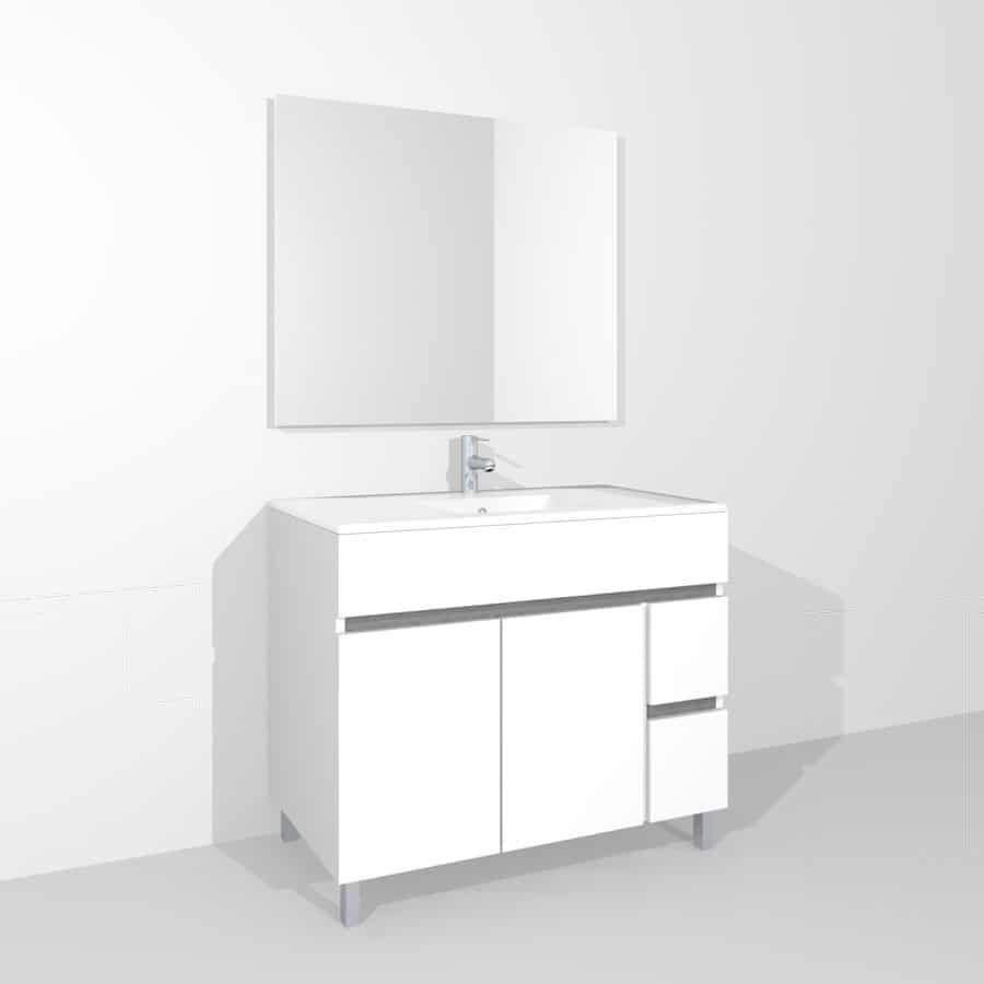 Mueble con patas gamma banium - Tu mueble online ...