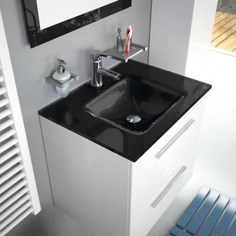 Mueble 600 mm con lavabo de banium - Lavabos con mueble ...