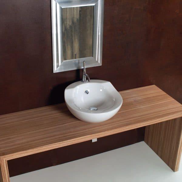 Lavabo de porcelana orrizonte 54 - cazaña