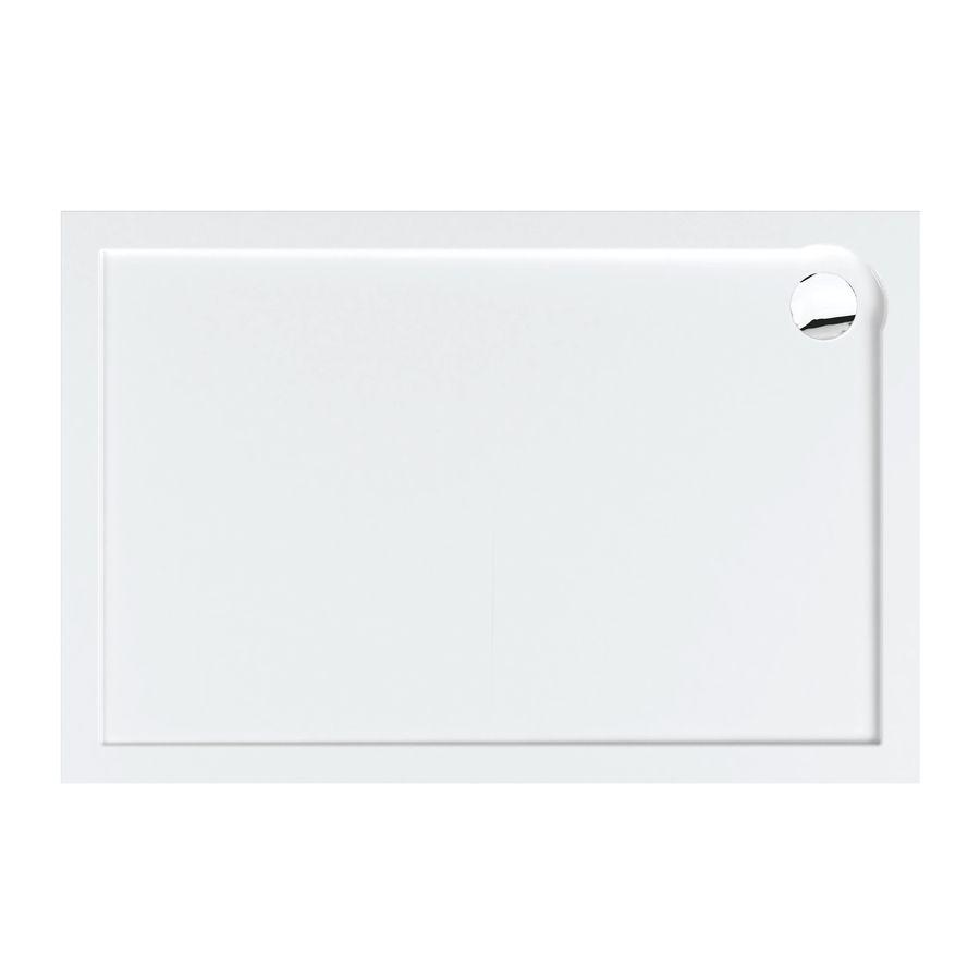 Plato de ducha rectangular porta liso