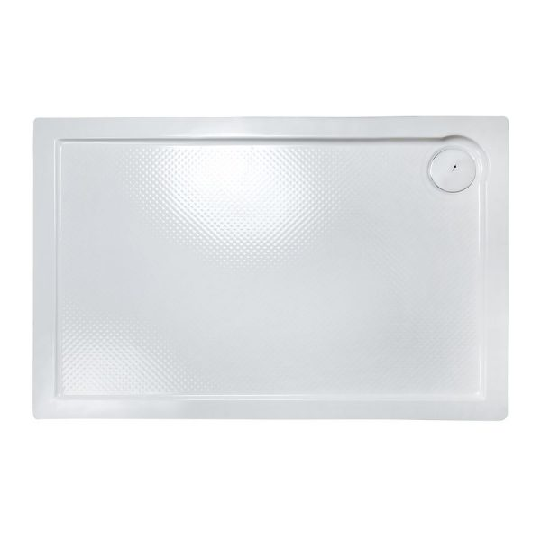 Plato de ducha rectangular porta relieve