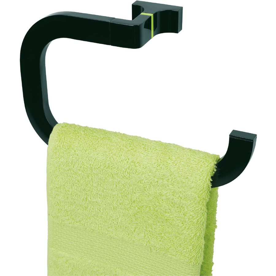 Toallero aro pequeño Toix negro - Baño Diseño