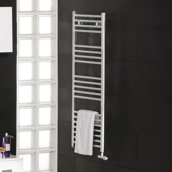 Radiador toallero 120x50cm blanco tojar - Gamma