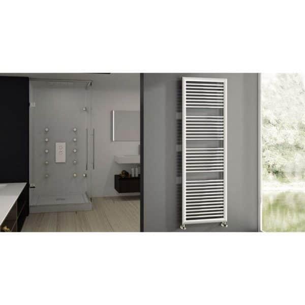 Radiador toallero blanco hidráulico - Cabeldor - Quafit - Reforclima