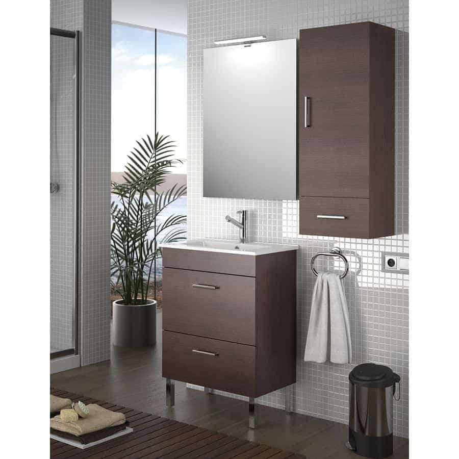 Conjunto completo con lavabo banium Muebles de lavabo online