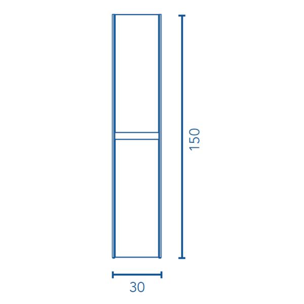 Columna 30 cm - Alfa - Royo Group