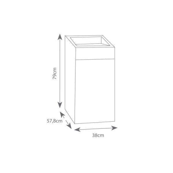 Mueble para lavadero - Gamma - muro