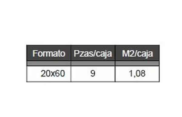 Pavimento 20x60cm Nogal - Madera - Futura