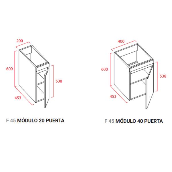 Modulo 1 puerta - Torvisco Group - Loa