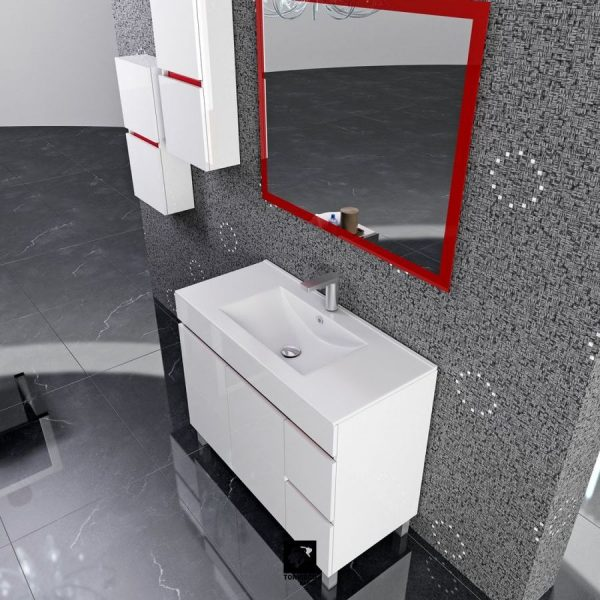 Mueble a suelo y lavabo fondo 45 cm - Torvisco Group - Sil