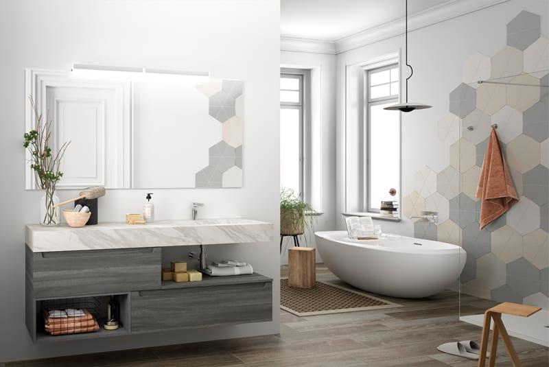 Encimeras a medida para el cuarto de baño | Banium.com