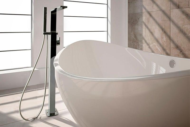Griferías de columnas para bañeras exentas