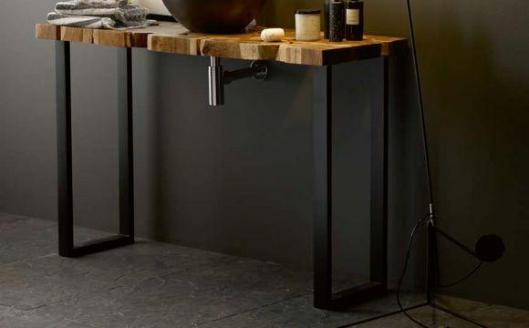 Encimeras y soportes que hacen de cualquier rincón un espacio de diseño