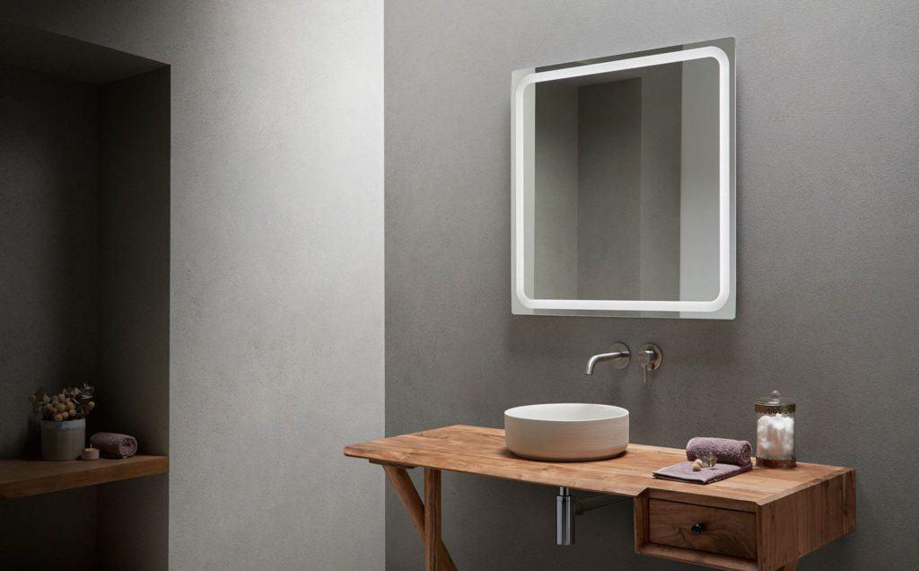 Espejos con luz led de Bathco para el cuarto de baño