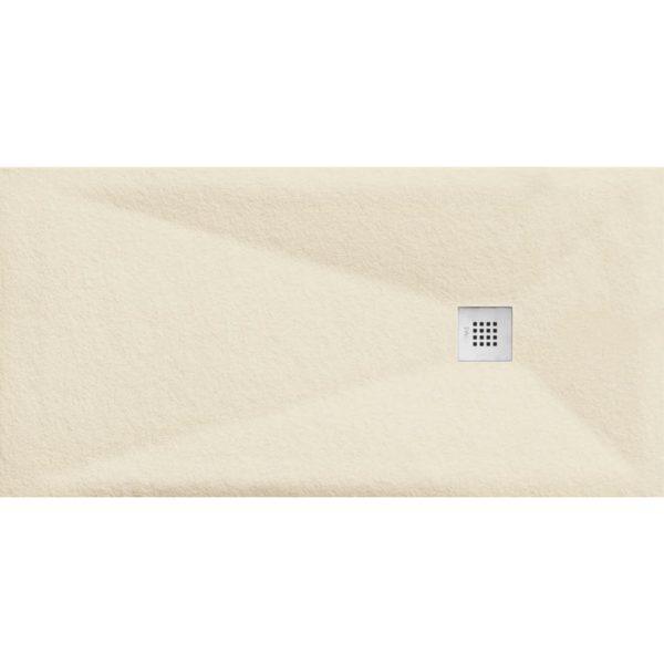 Plato de Ducha Cube Pietra Marfil - Aquahome