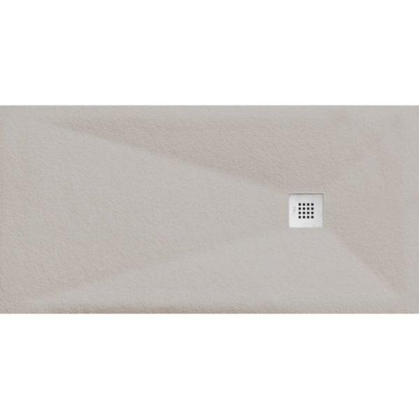 Plato de Ducha Cube Pietra Aluminium - Aquahome