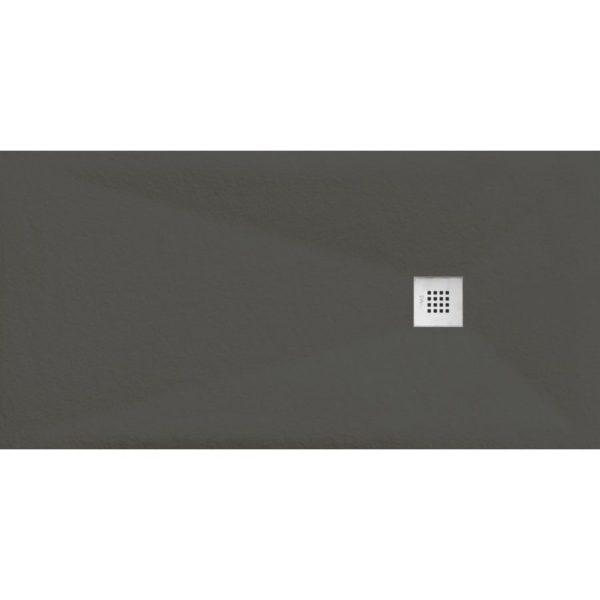 Plato de Ducha Cube Pietra Grafito - Aquahome