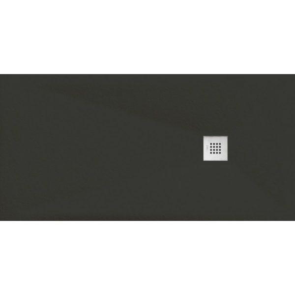 Plato de Ducha Cube Pietra Negro - Aquahome