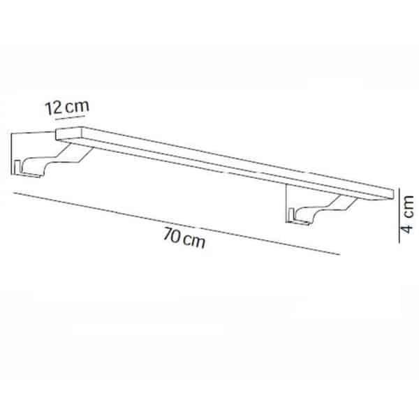 Aplique de 70 cm - 7649 - Manillons Torrent