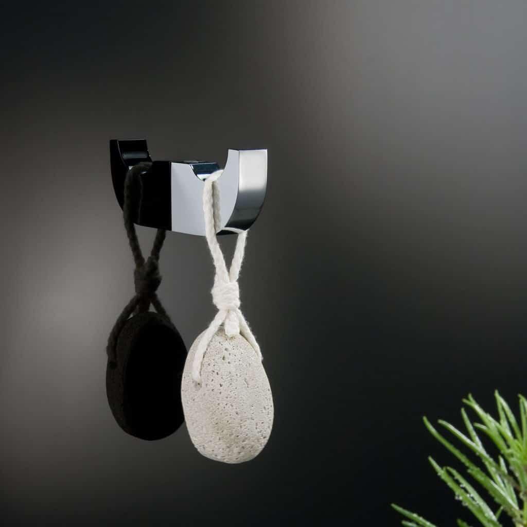 Accesorios de baño con cristales Swarovski