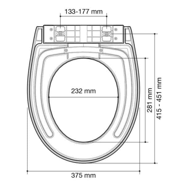 Tapa WC antiolores Fresh - Plastisan