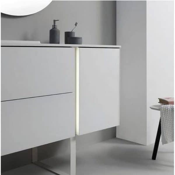 Conjunto mueble con lavabo tecnológico con carga por inducción - GO ON - Royo Group