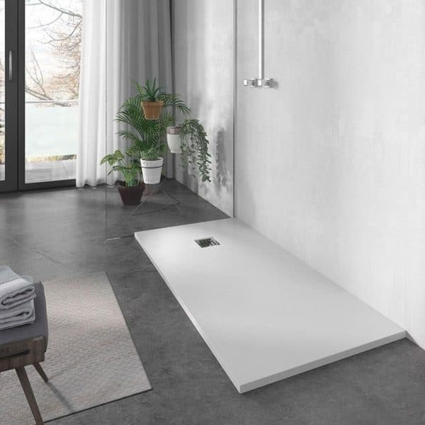 Plato de ducha resina liso - Futurbaño