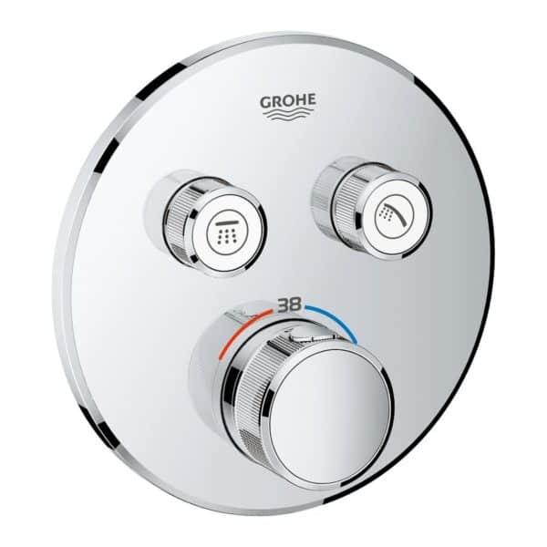 Termostato empotrado con 2 llaves - Grohtherm Smartcontrol - Grohe