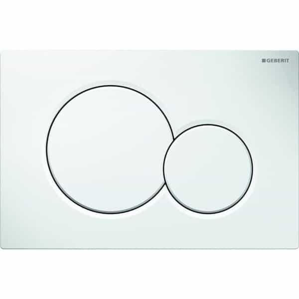 Pulsador para doble descarga - Sigma01 - Geberit