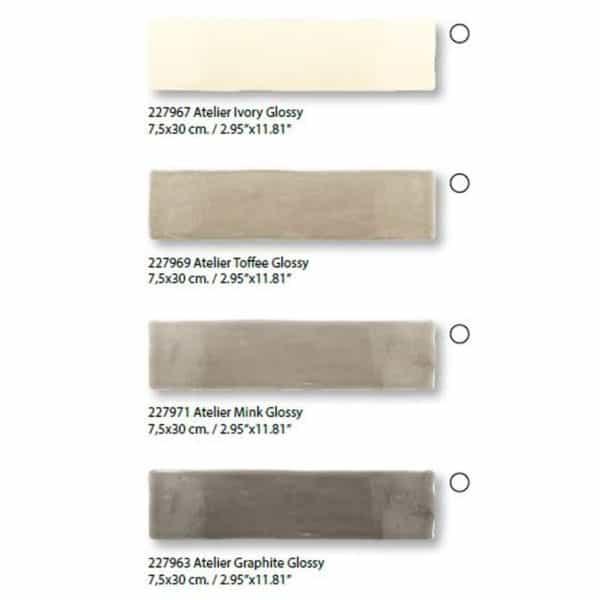 Revestimiento pasta blanca - Atelier -  Dune cerámica