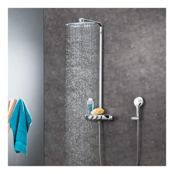 Sistema de ducha con termostato incorporado - Rainshower Smartcontrol 360 duo - Grohe